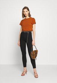 Topshop - PURE JONI - Jeans Skinny Fit - black - 1