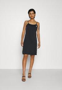 adidas Originals - DRESS - Day dress - black - 0