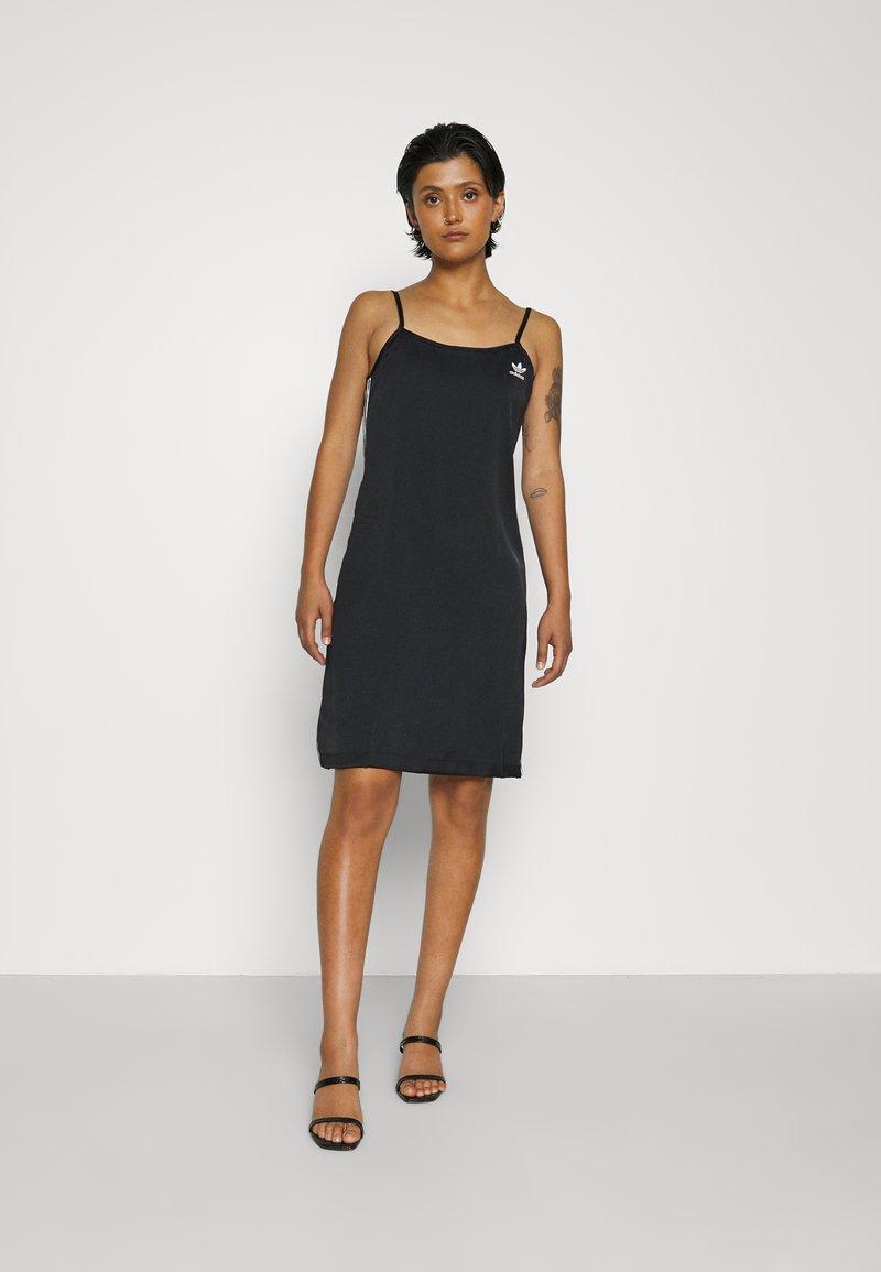 adidas Originals - DRESS - Day dress - black