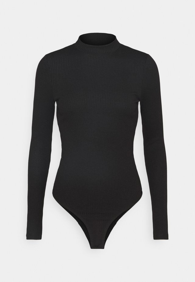 VMMIA HIGHNECK BODY - Long sleeved top - black