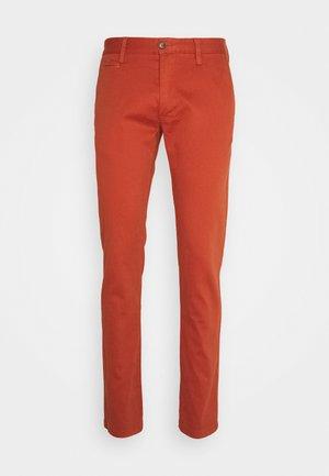 Stoffhose - dark orange