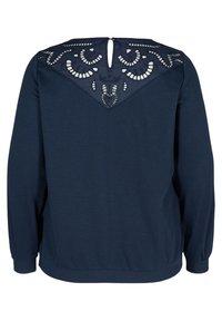 Zizzi - Sweatshirt - blue - 6