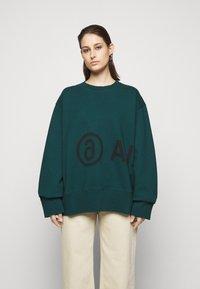 MM6 Maison Margiela - Sweatshirt - duck green - 0