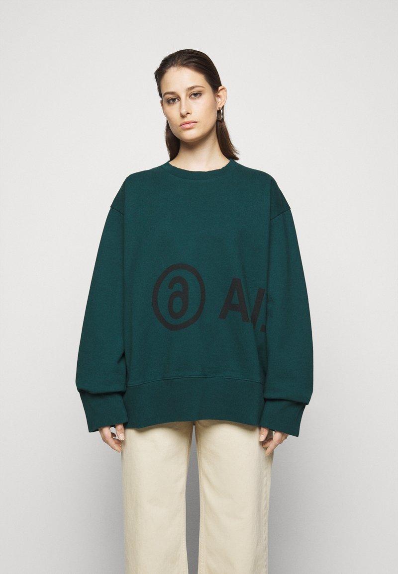 MM6 Maison Margiela - Sweatshirt - duck green