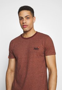 Superdry - VINTAGE CREW - Basic T-shirt - desert orange grit - 4