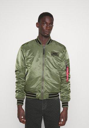 COLLEGE JACKET - Bomber Jacket - sage green