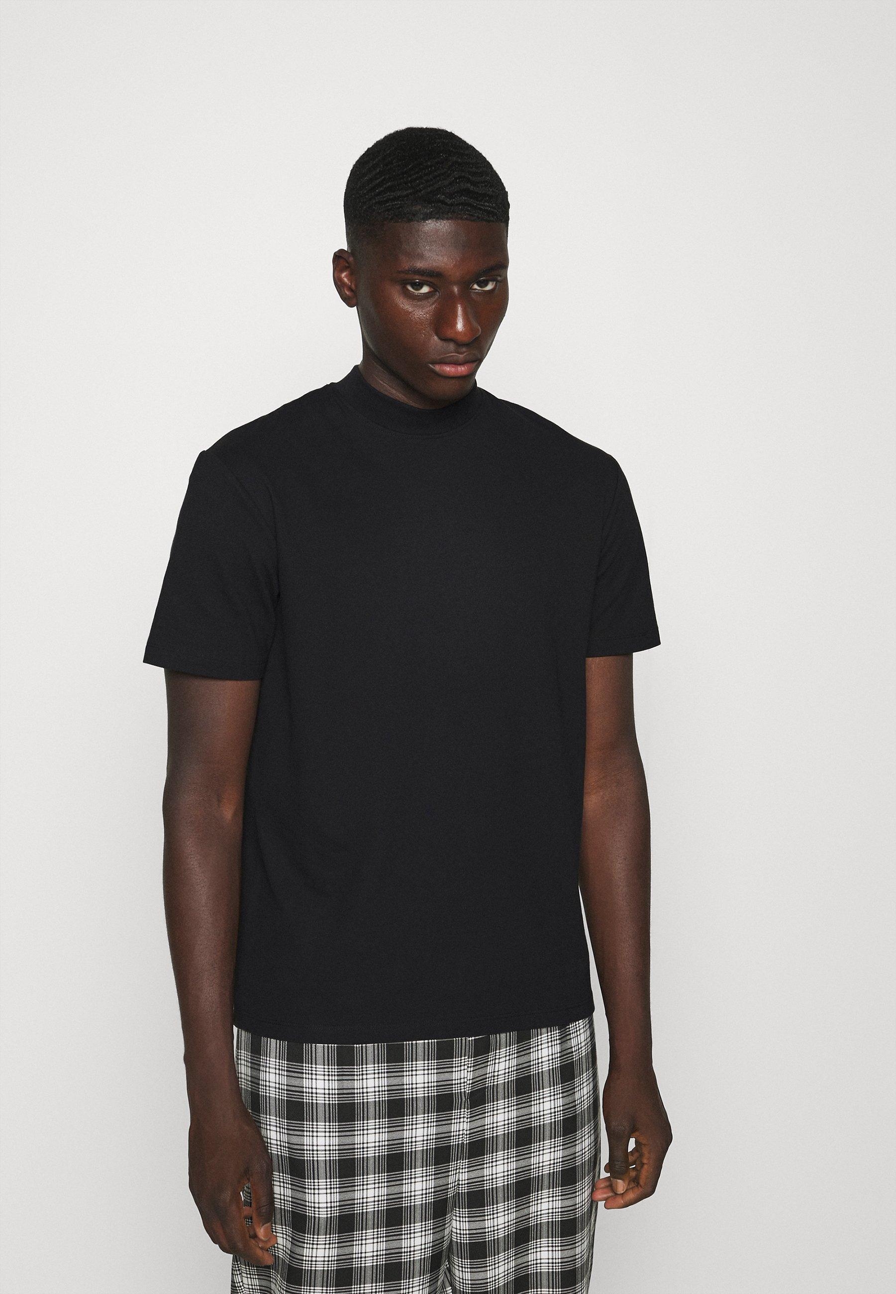 Uomo ONSVILMOS LIFE MOCK NECK TEE - T-shirt basic