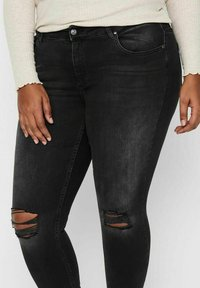 ONLY Carmakoma - Jeans Skinny Fit - black denim - 3