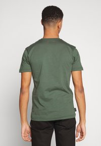 Le Fix - POCKET TEE - T-shirt basique - army