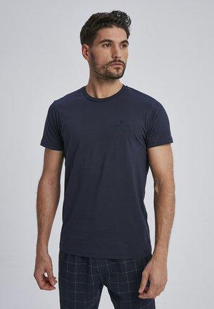 CARLEN - Basic T-shirt - navy
