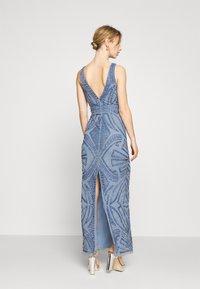 Lace & Beads - FALLYN MAXI - Vestido de fiesta - dusty blue - 2