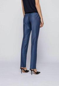BOSS - TITANA - Pantaloni - blue - 2