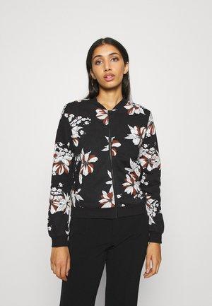 ONLJALENE  - Zip-up hoodie - black