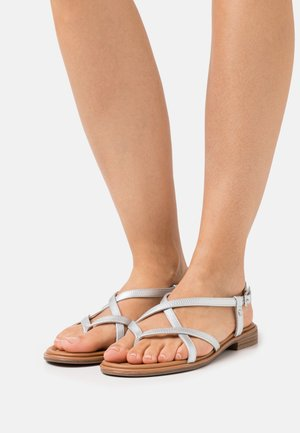 NORA - T-bar sandals - silver