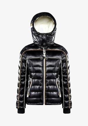 ASCENDER - Down jacket - black/gold