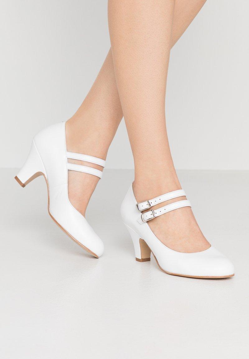 LAB - Classic heels - tibet blanco