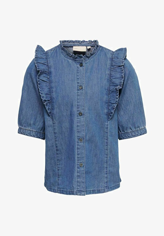 Blus - medium blue denim