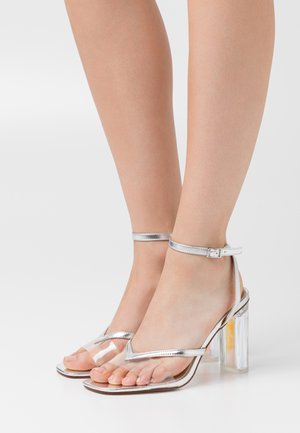 TWEETY - Sandals - clear/silver