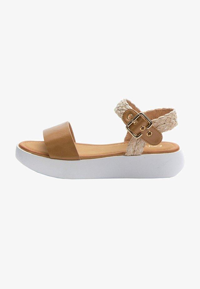 Sandals - light brown   beige