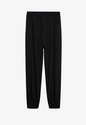 BOMBAY - Spodnie materiałowe - czarny