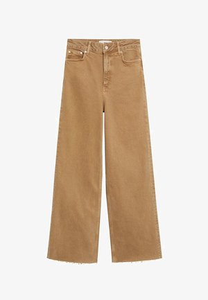 CASILDA - Flared Jeans - beige
