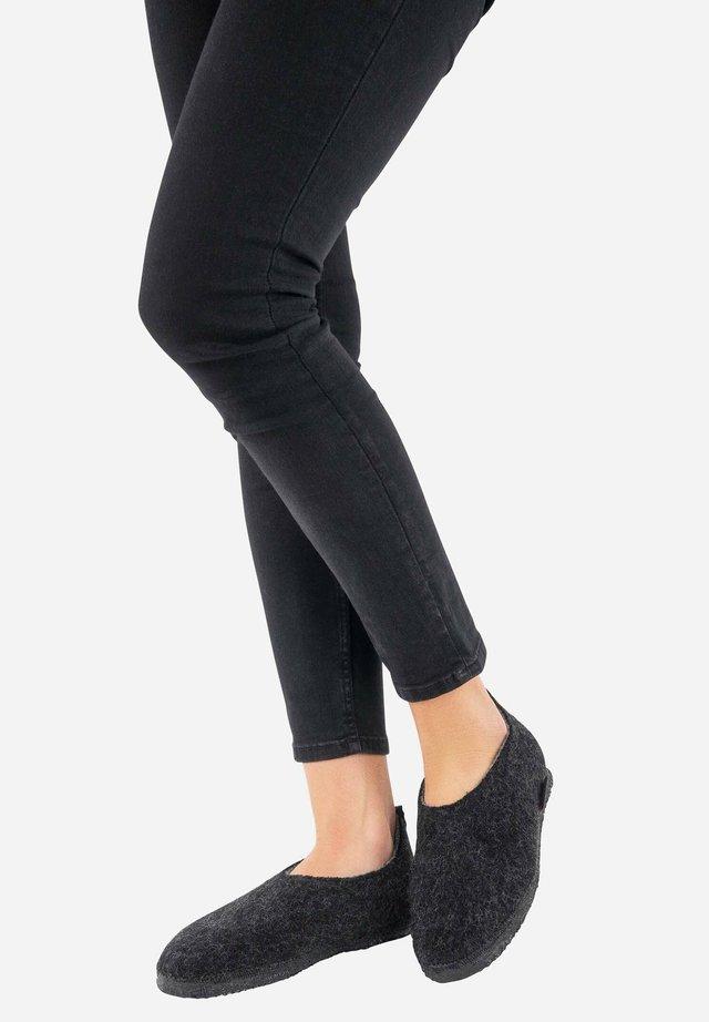 Pantoffels - noir