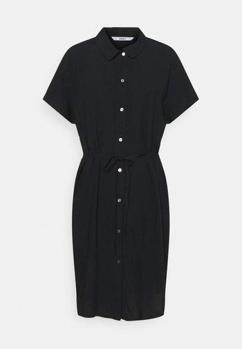 ONLNOVA LIFE SHIRT DRESS  - Vestido camisero - black