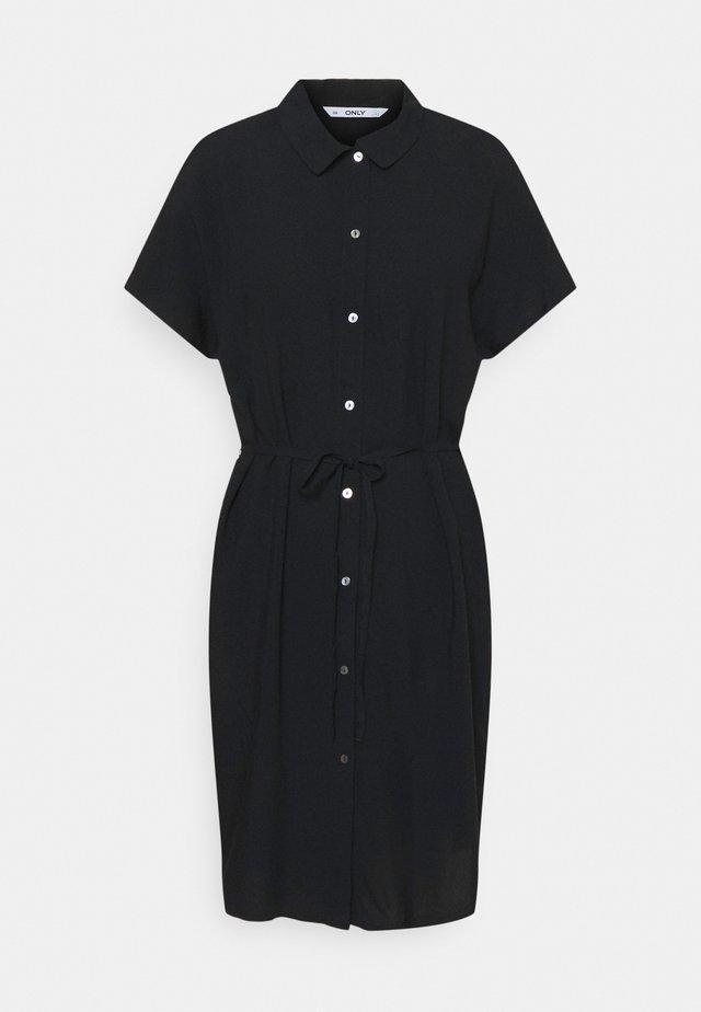 ONLNOVA LIFE SHIRT DRESS  - Shirt dress - black
