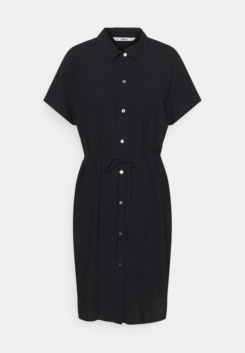 ONLY Tall - ONLNOVA LIFE SHIRT DRESS  - Vestido camisero - black