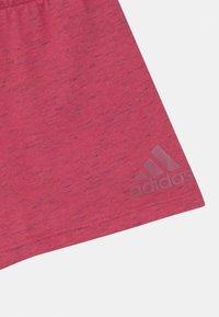 adidas Performance - UNISEX - Sportovní kraťasy - light pink - 2