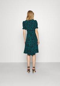 Diane von Furstenberg - ALEXIS DRESS - Day dress - medium teal - 2