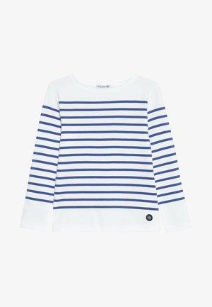 MARINIÈRE AMIRAL KIDS - Long sleeved top - blanc/etoile