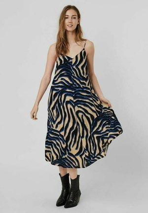 Korte jurk - travertine