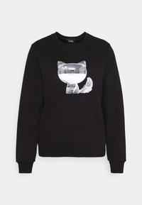 KARL LAGERFELD - 3D IKONIK CHOUPETTE  - Sweatshirt - black - 5