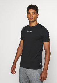 Jack & Jones - JCOTULIP TEE - Print T-shirt - black - 0