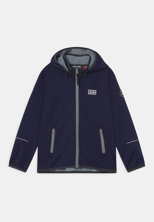 Soft shell jacket - dark navy