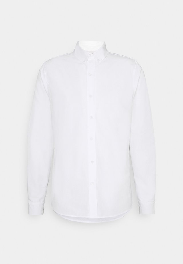 CLASSIC FIT OXFORD - Kauluspaita - white