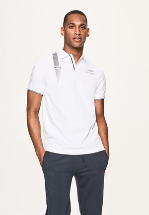 AMR DYNAMIC LINES - Polo shirt - white