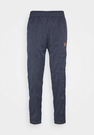 PANT - Tracksuit bottoms - obsidian/wheat