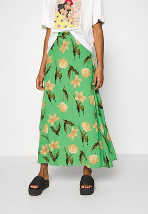 VMBETTY HW ANKLE SKIRT - Maxi skirt - greenbriar