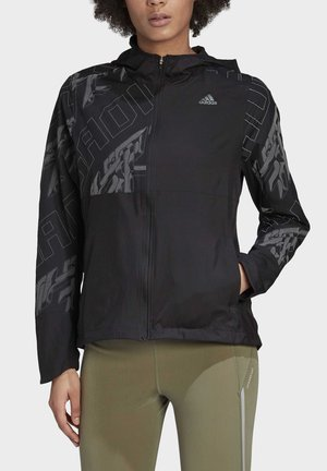 OWN THE RUN REFLECTIVE JACKET - Kurtka sportowa - black