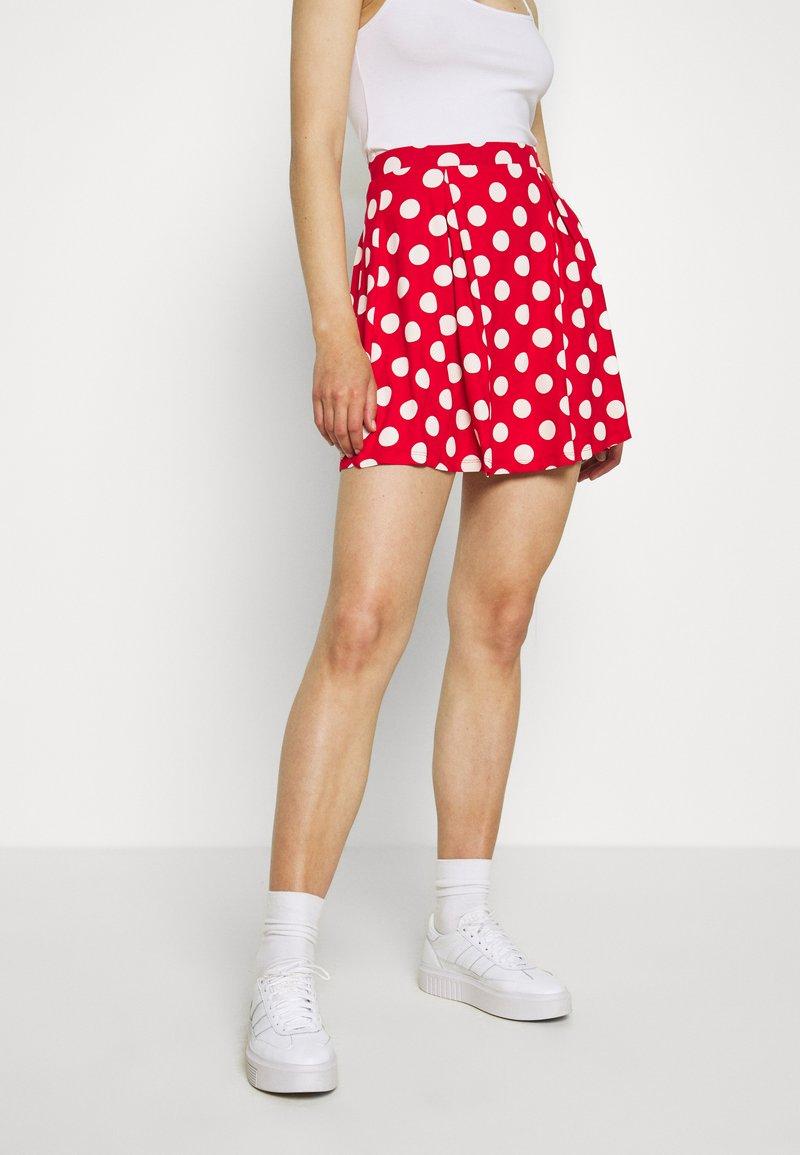 Even&Odd - A-snit nederdel/ A-formede nederdele - goji berry/white