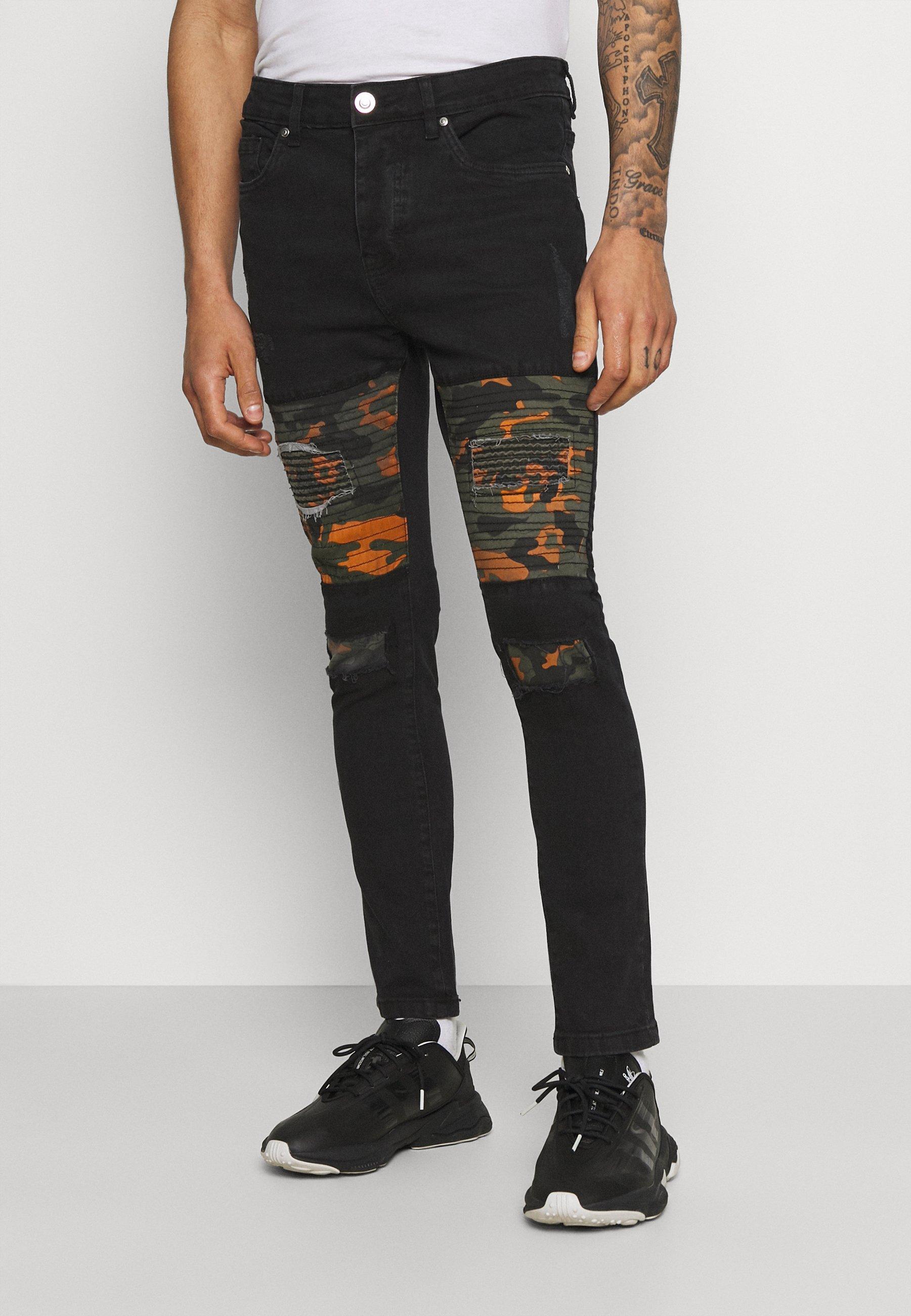 Men ROBBIN CAMOO - Jeans Skinny Fit