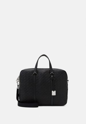 LAPTOP BAG MONO - Briefcase - black