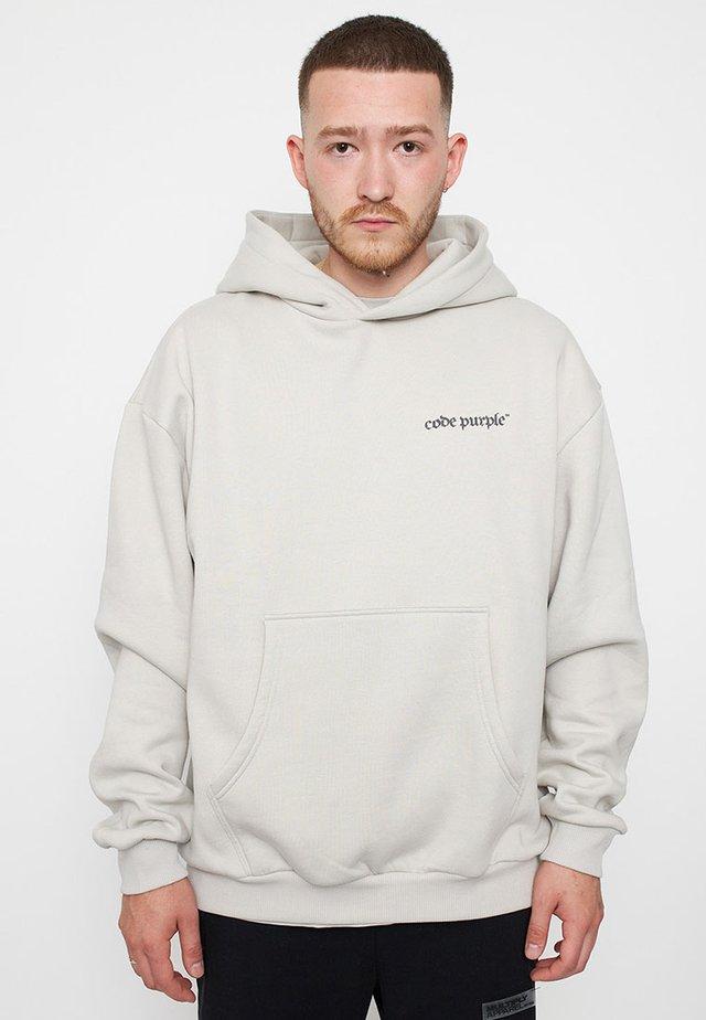 OVERSIZE CODE - Hoodie - grey