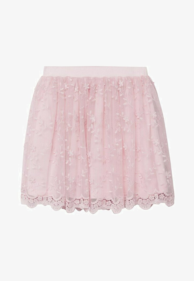 Mango - A-line skirt - stone