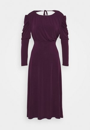 LADIES DRESS - Day dress - plum purple