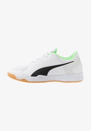 AURIZ - Sports shoes - black/white/green