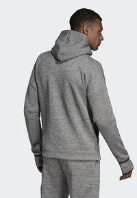 adidas Performance - adidas Z.N.E. Fast Release Hoodie - Fleecejas - grey - 1