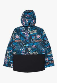 Quiksilver - MISS BLOC - Snowboard jacket - black bark to the moon - 1